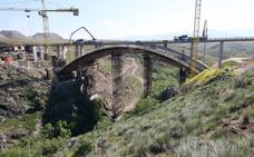 Así está quedando el viaducto de la circunvalación de Segovia