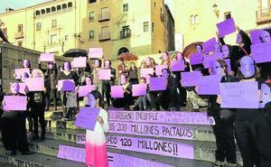 Segovia Feminista reclama 200 millones de euros para el pacto contra la violencia de género