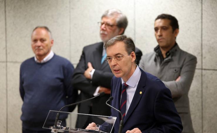 Germán Barrios toma posesión de su cargo como presidente del Consejo Económico y Social (CES) de Castilla y León