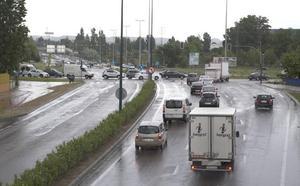 La tormenta apaga los semáforos de numerosos cruces de Valladolid durante varias horas