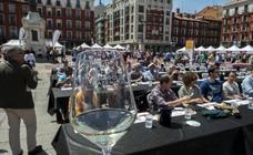 Cata del sábado por la mañana en la feria 'Valladolid, Plaza Mayor del Vino'