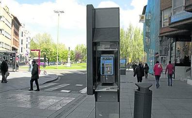 Adios a las 28 cabinas públicas de teléfono de Palencia