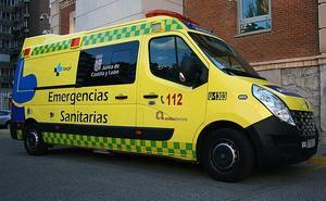 Un herido en la colisión de un coche y un camión en Honrubia de la Cuesta