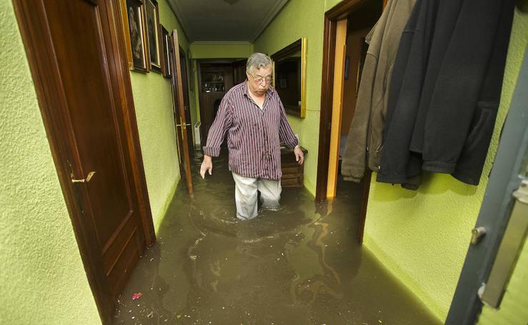 Tormenta de agua y granizo en Ciudad Rodrigo