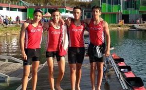 Histórica plata para el Salamanca Canoe Kayak en el Nacional de Jóvenes promesas