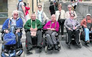 Segovia no es una ciudad accesible, según las personas con discapacidad