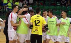 Naturpellet juvenil pasa a semifinales de la Copa de España de fútbol sala