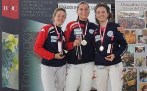El VCE logra 20 medallas en el Ranking Regional y el Campeonato de Castilla y León de Espada