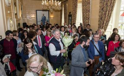 Homenaje del Ayuntamiento a los jubilados en la fiesta de Santa Rita