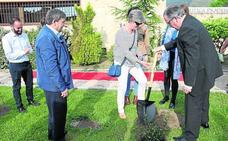 Prádena estrena El Acebal, su nuevo centro de recepción de visitantes