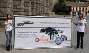 Condenado el exalcalde de Muñoveros por disparar a un perro