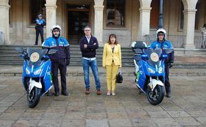 El Ayuntamiento de Soria incorpora a su parque móvil dos motos eléctricas para la Policía Local