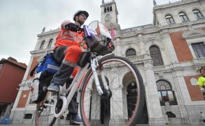 Cruz Roja y Policía de Valladolid apuestan por las patrullas en bicicleta