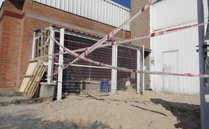 Descartados «riesgos para la salud» por el incendio de una sustancia química en Santovenia