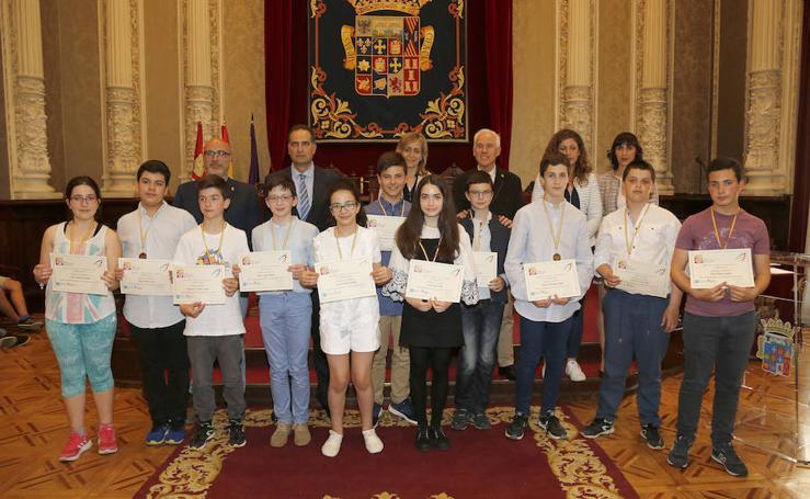 Entrega de premios de la Olimpiada de Matematicas