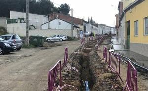 El fin de las obras del Camino de Moraleja de Medina se adelantará ante las protestas vecinales