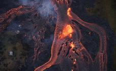 Las impresionantes imágenes de la erupción del volcán Kilauea de Hawái