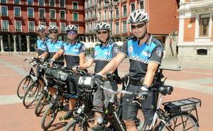Los agentes ponen buena nota a la unidad ciclista