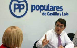 Fernández Mañueco insiste en la honestidad del PP de Castilla y León