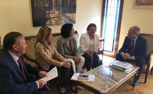 La Diputación impulsará la colaboración con el CSIC e Irnasa