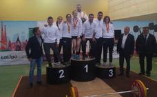 La Universidad de Salamanca gana el Campeonato de España Universitario de Halterofilia