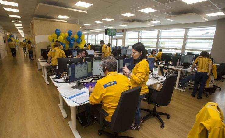 Ikea inaugura en Valladolid su Centro de Atención al Cliente