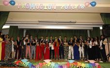 Graduación de los alumnos de Bachillerato del IES Conde Lucanor de Peñafiel