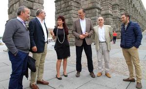 El secretario general de Vox destaca el incremento de afiliados en Segovia