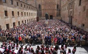 El Patio de Escuelas reúne a miles de exalumnos de la USAL