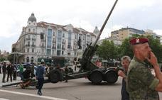 Día de las Fuerzas Armadas en Valladolid