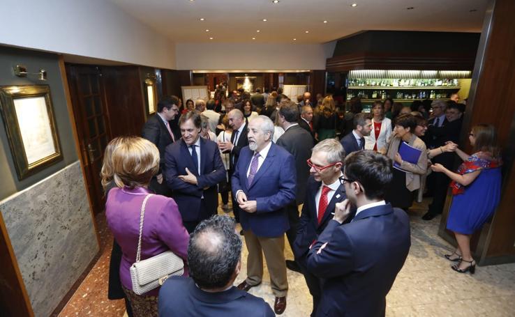 Entrega de los premios anuales de Cecale en Salamanca