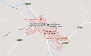 Tres heridos en un accidente en la A-62 en Trigueros del Valle