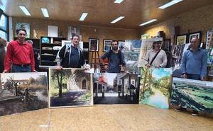 Julio Arranz gana el certamen de pintura rápida de Palencia