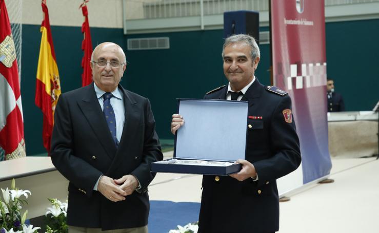La Policía Local de Salamanca celebra el día de su patrón
