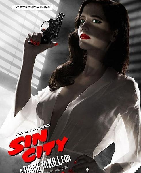 Carteles de películas conocidas Sincity2--490x600