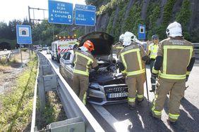 Accidentes de tráfico en Asturias