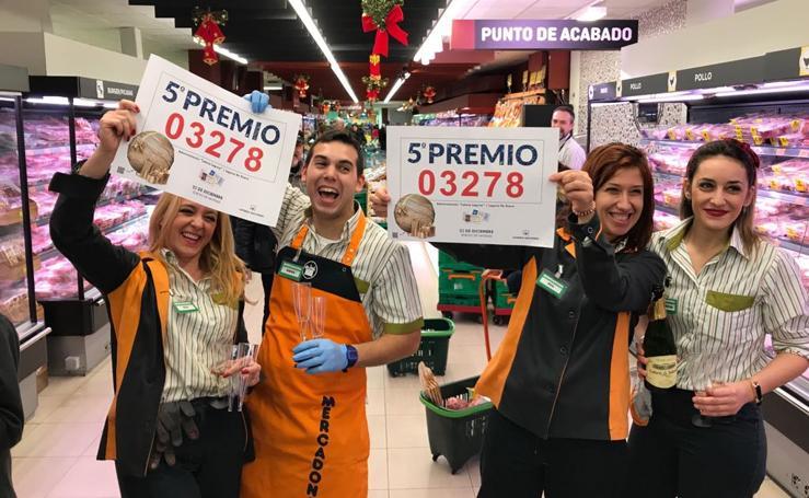 Laguna de Duero agraciada con un quinto premio de la Lotería de Navidad