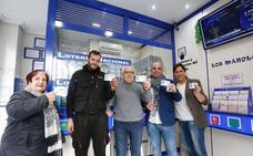 Tres quintos premios se dejan ver en Salamanca