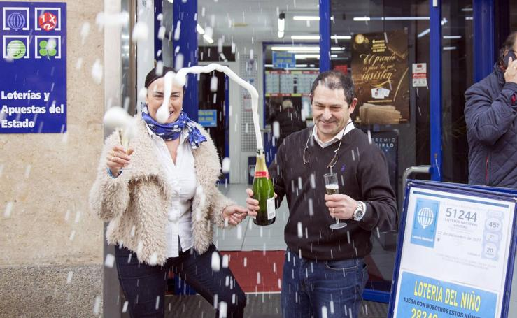 El sorteo de Navidad deja pellizcos en Castilla y León