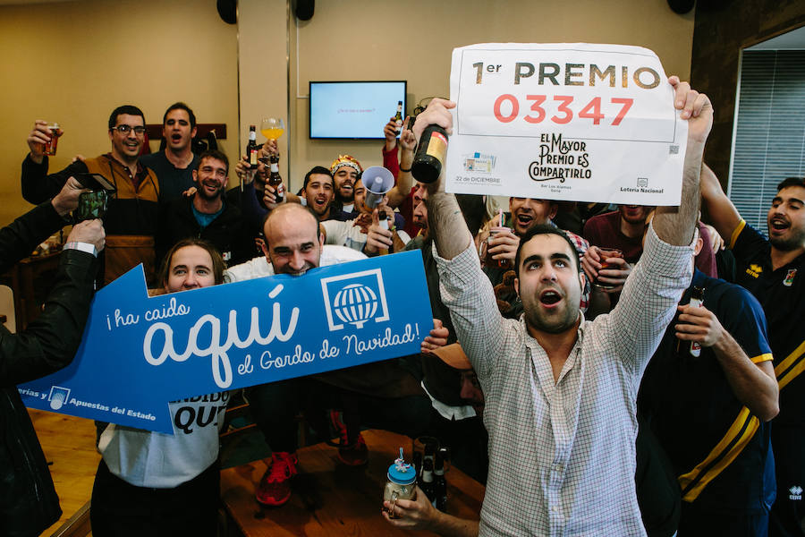 Los millones de la Lotería de Navidad recorren Castilla y León
