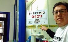 22,5 millones de euros del tercer premio de la Lotería de Navidad se quedan en Miranda