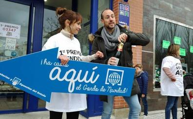 El Gordo sonríe a Burgos, con su paso por Gamonal
