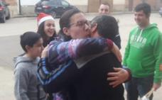 San Román de Hornija lanza cohetes para celebrar su quinto premio