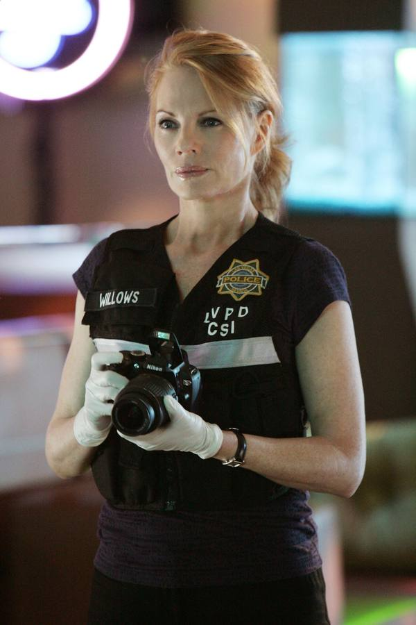 Marg Helhenberger es Catherine Willows