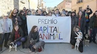La localidad vallisoletana de Trigueros del Valle recibe el I Premio Capital Animal