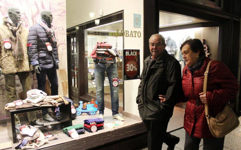 El Black Friday en Palencia