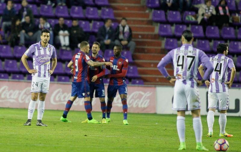 Real Valladolid 0 - 4 Levante