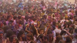 Holi Run 2017 en Arroyo de la Encomienda (3/6)