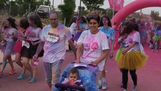 Holi Run 2017 en Arroyo de la Encomienda (5/6)