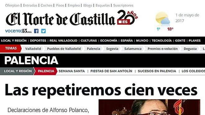 Falsa noticia en la red desde Palencia